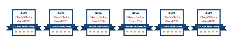 Clients Choice Award badges