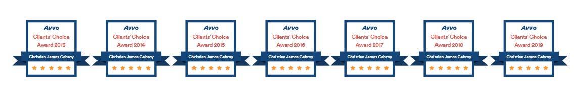 Clients Choice Award badges 2019