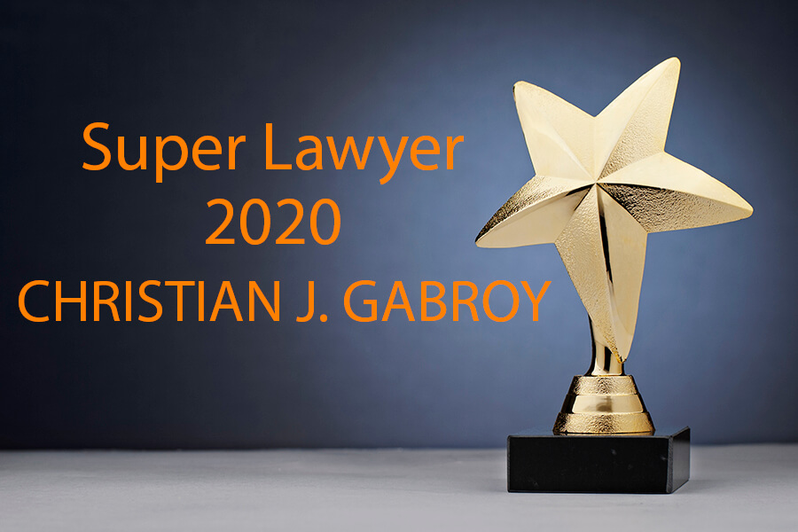 Christian Gabroy Selected to the 2020 Mountain States Super Lawyers List