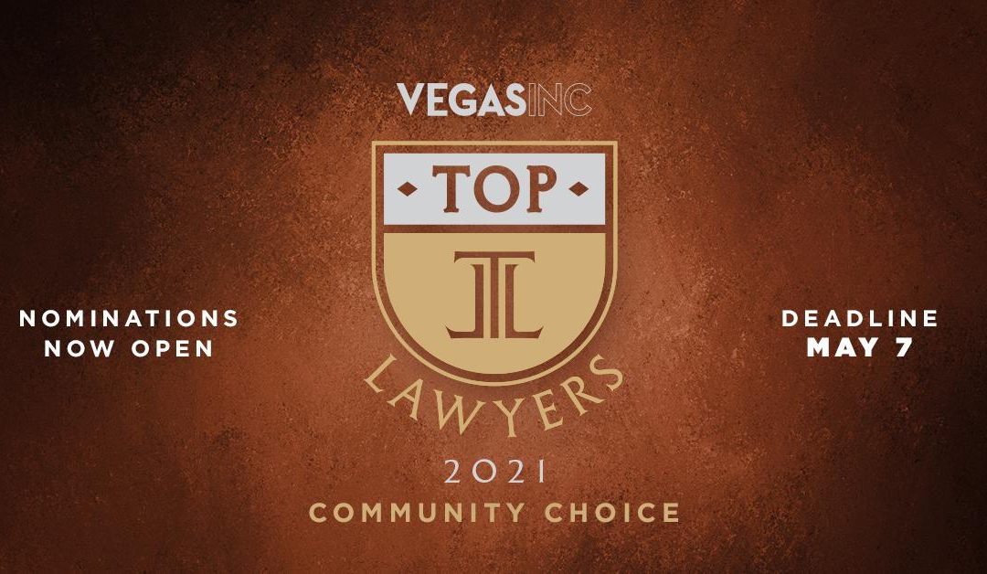 The 2021 Top Lawyers Nominations Are Now Open